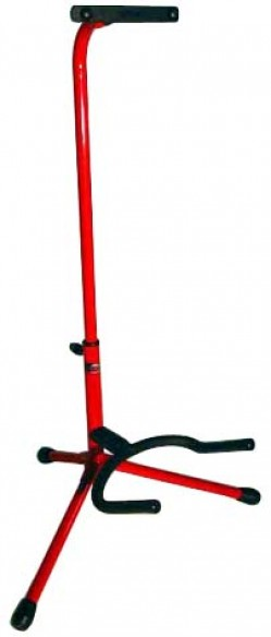 Stagg Guitar Stand REd