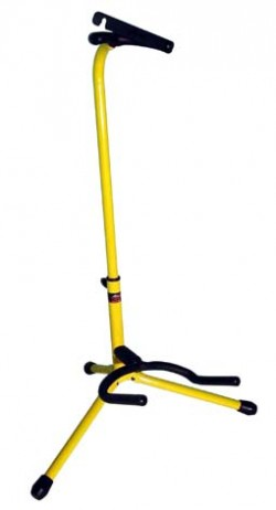 Stagg Guitar Stand Yellow